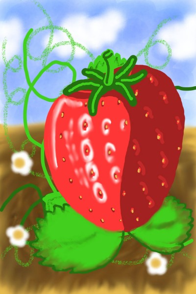 Strawberry | joebarbo | Digital Drawing | PENUP