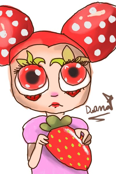 chica fresa | DianaBurton31 | Digital Drawing | PENUP