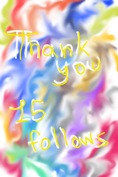 Thank you for 15 follows! | A.K.G_INDIA | Digital Drawing | PENUP