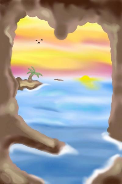 Sunset   Kristen_Shay   Digital Drawing   PENUP