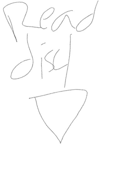 Hey, read disc | ZackULA | Digital Drawing | PENUP
