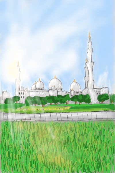 sheikh Zayed mosque  | Amirflash | Digital Drawing | PENUP