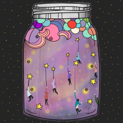 Dream Jar | Dex.R | Digital Drawing | PENUP