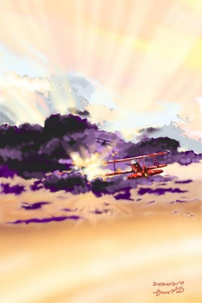 The western sky | xiaos | Digital Drawing | PENUP