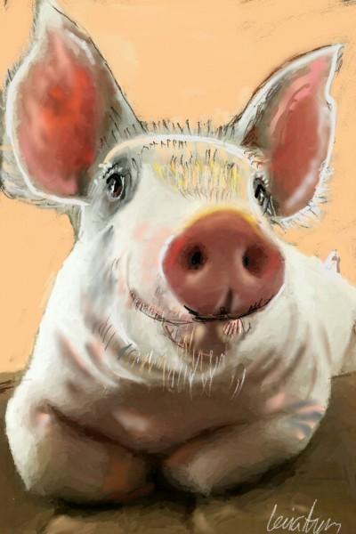 Miss Piggy! | LEVIATHAN | Digital Drawing | PENUP