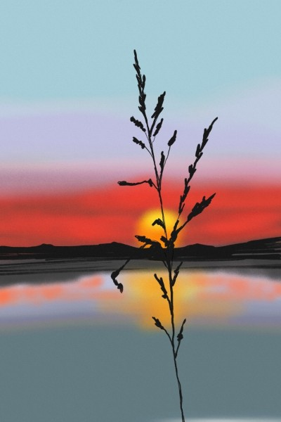 Sunset | AntoineKhanji | Digital Drawing | PENUP