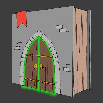Books are Portals to other Worlds...   cptpebkac   Digital Drawing   PENUP