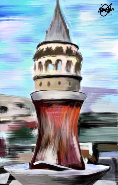 Galata kulesi ⭐❤️ | IREM.Aksoy | Digital Drawing | PENUP