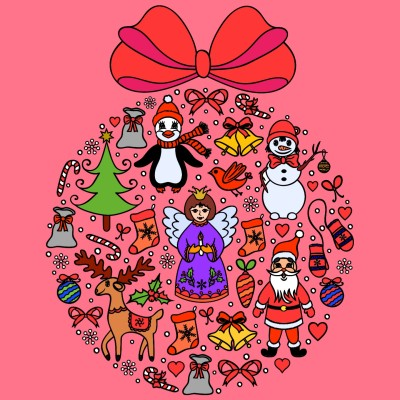 Christmas Ball??? | A.K.G_INDIA | Digital Drawing | PENUP