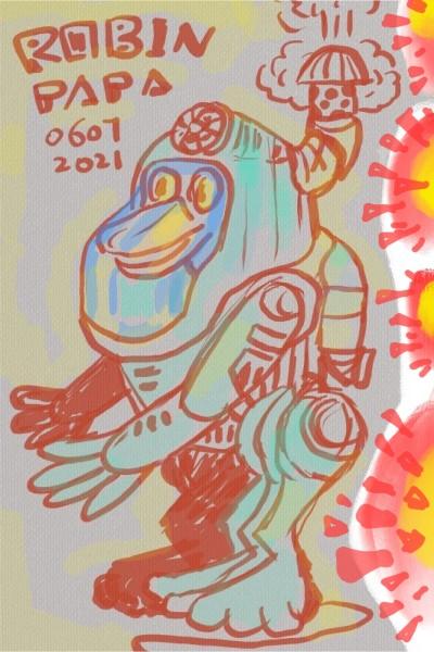 Duck : full protection | RobinPAPA | Digital Drawing | PENUP