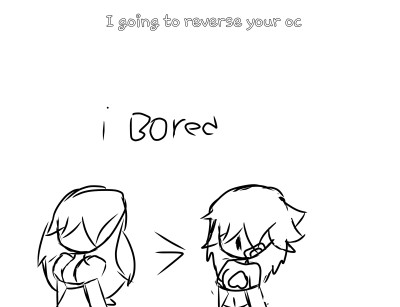 I reverse your oc   Reckles-Ibuki   Digital Drawing   PENUP