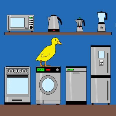 Baby Duck Appliances | Bekkie | Digital Drawing | PENUP