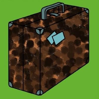 Brown Suitcase | A.K.G_INDIA | Digital Drawing | PENUP