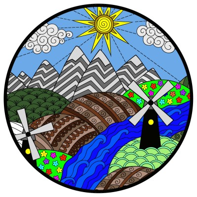 the hills are alive   Bigwill3562   Digital Drawing   PENUP
