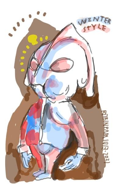 winter style : ultra baby | RobinPAPA | Digital Drawing | PENUP