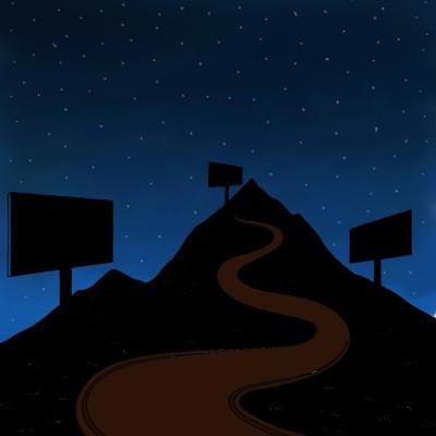 Night road   tashapreisner   Digital Drawing   PENUP
