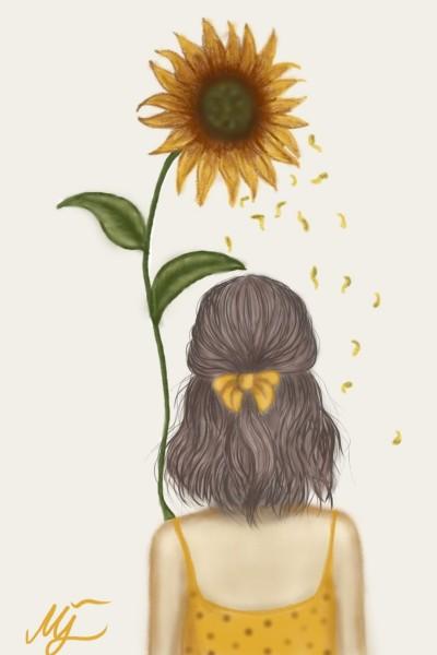 Yellow Summer | mjalkan | Digital Drawing | PENUP