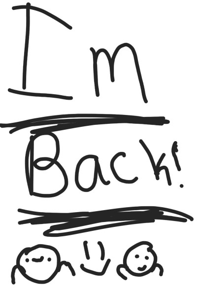 I'm back! | DemonWolf251 | Digital Drawing | PENUP