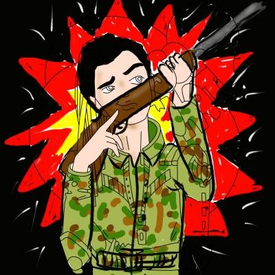Gun Shot | OmrGhabban | Digital Drawing | PENUP