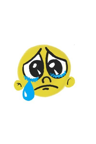 Emoji triste   Daniellsamorim   Digital Drawing   PENUP