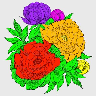 Coloring Digital Drawing   sina   PENUP