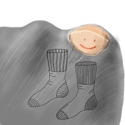 ripped sock | J-O-C | Digital Drawing | PENUP