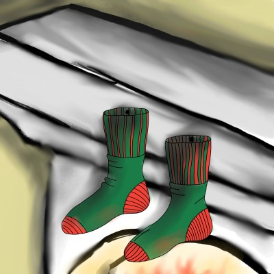 Stockings  | Dragon_Halfling | Digital Drawing | PENUP