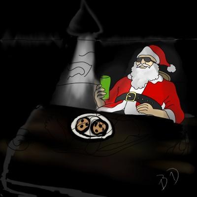 Final Santa's Night Out   Dragon_Halfling   Digital Drawing   PENUP