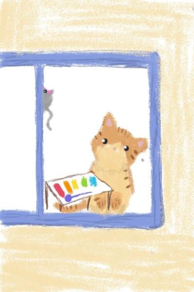 실로폰 고양이    sein_park   Digital Drawing   PENUP