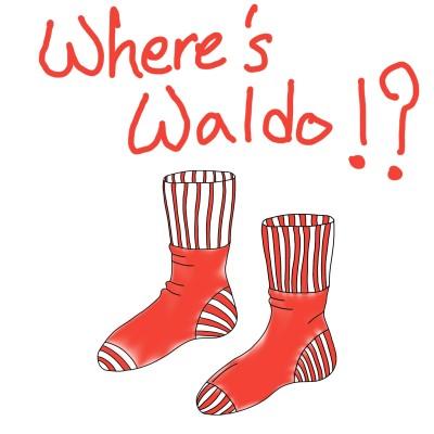 Where's Waldo Socks?   DJ_Jesse   Digital Drawing   PENUP