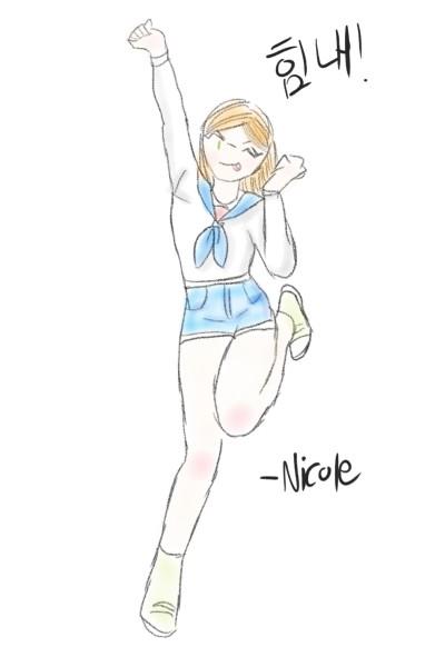 힘내세욧! | Nicole | Digital Drawing | PENUP