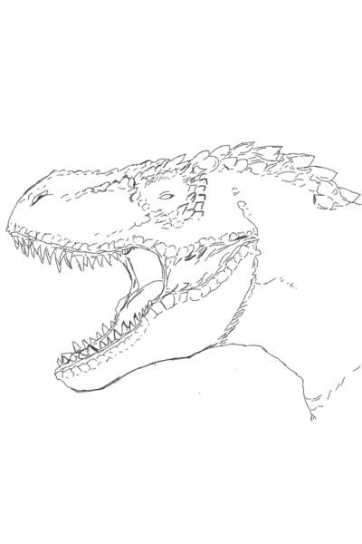 Tyrannosaurus Rex | Paysleic123 | Digital Drawing | PENUP