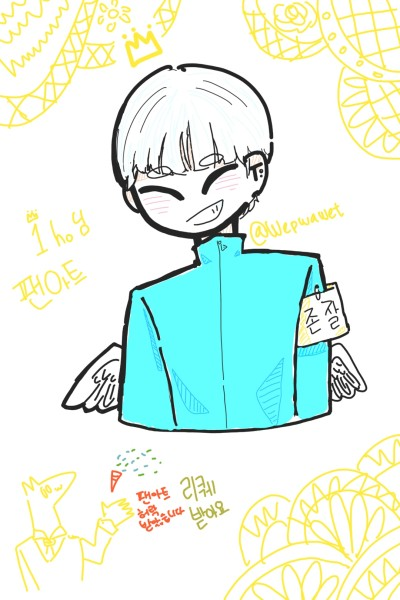1ho님 팬아트/리퀘받습니다♡   Wepwawet   Digital Drawing   PENUP