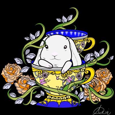 The Royal Bunny | Avi | Digital Drawing | PENUP