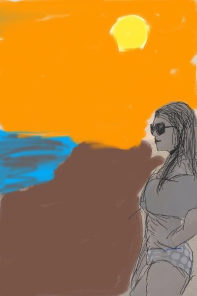 Playa  | santiagojhg | Digital Drawing | PENUP