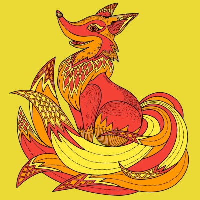 Fire Fox   cptpebkac   Digital Drawing   PENUP