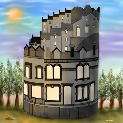 Castle | Monica.Baumann | Digital Drawing | PENUP