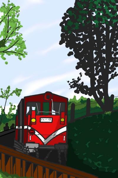 小火車 | thomas | Digital Drawing | PENUP