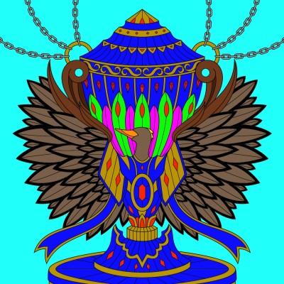 bird statue | Bigwill3562 | Digital Drawing | PENUP