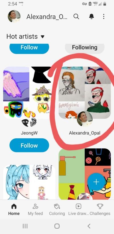 I finally found myself. Lol!!!  | Alexandra_Opal | Digital Drawing | PENUP