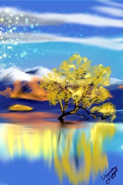 Solitary Tree | missdarrian | Digital Drawing | PENUP