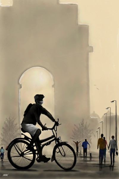 Ride Safe,Ride Home/victory  gate.  | nuni | Digital Drawing | PENUP