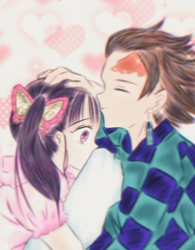 Kimetsu no Yaiba Tanjiro and Kanao | Sweety | Digital Drawing | PENUP