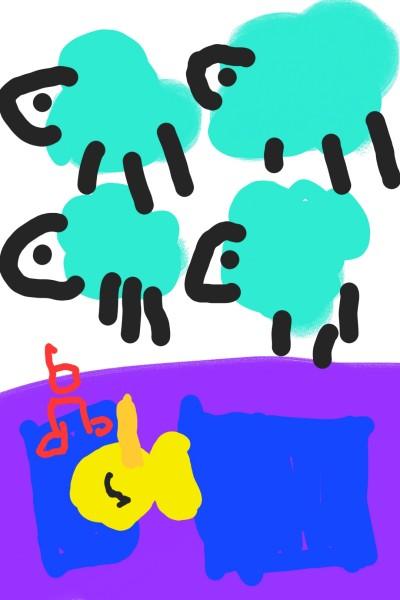 das Entchen schläft   Momo   Digital Drawing   PENUP
