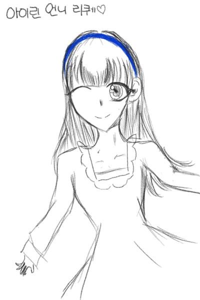 아이린 언니 캐릭터와 함께 탄생한 리퀘♡♡ | risona | Digital Drawing | PENUP