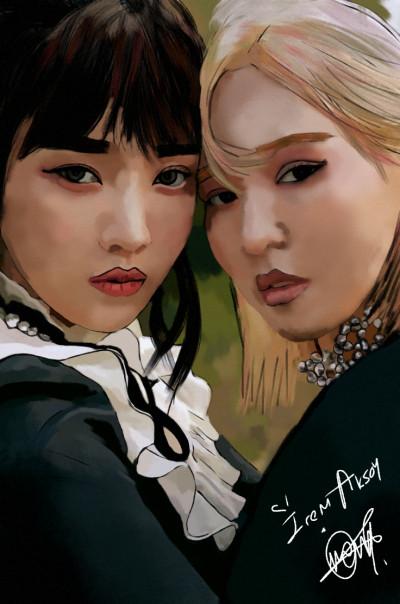 Joy and Wendy ❤️ | IREM.Aksoy2 | Digital Drawing | PENUP