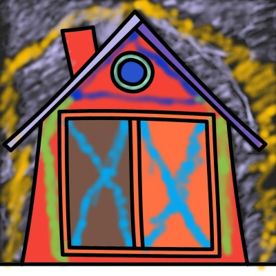 چی بگم خب خونس دیگه یه خونه معمولی توی شب... | Mahbod | Digital Drawing | PENUP