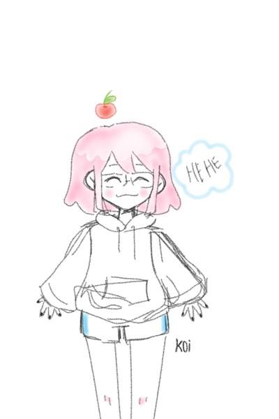 CHERRY!!!! <( ̄︶ ̄)>   koi   Digital Drawing   PENUP