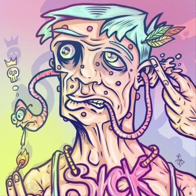 Sick by nikolass  | nikolass83 | Digital Drawing | PENUP