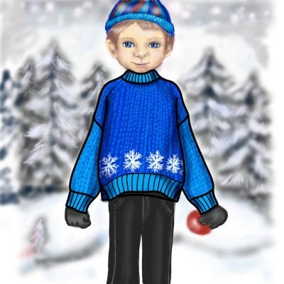 Snow Season | jenart | Digital Drawing | PENUP